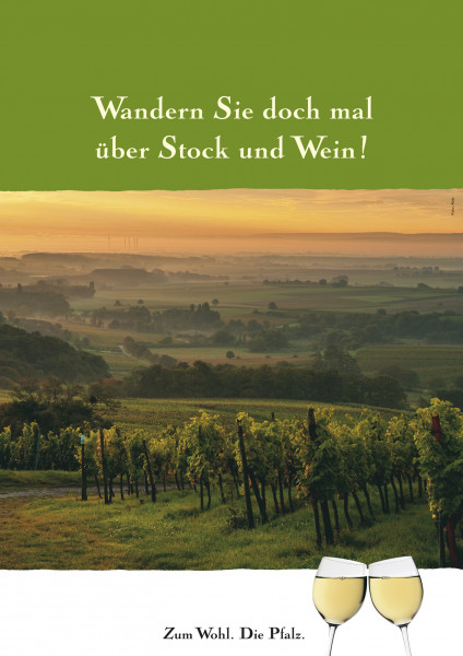Plakat »Pfälzer Weinsteig«