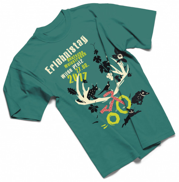 T-Shirt »Erlebnistag 2017«