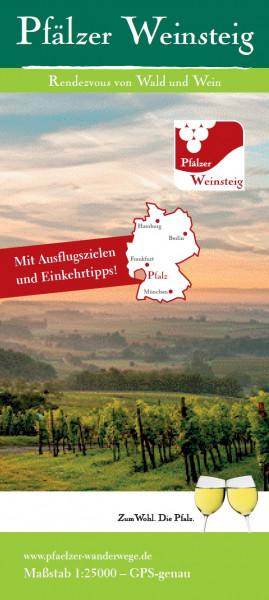 Karte »Pfälzer Weinsteig«